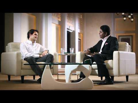 Roger Federer : Wimbledon - Rolex Rendezvous