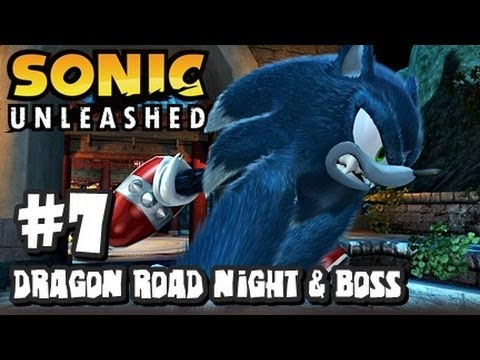 Sonic Unleashed (360/PS3) - (1080p) Part 7 - Dragon Road Night & Dark Gaia Phoenix