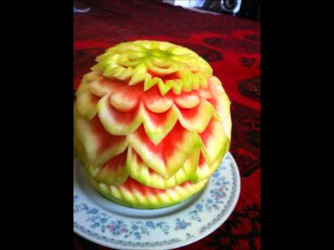My Fruit Carving Slideshow Part 3