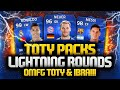 TEAM OF THE YEAR IN A PACK!!! TOTY & IBRAHIMOVIĆ! OMG! | FIFA 15 Ultimate Team