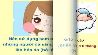 Một số điều cần biết về kem chống nắng - ThS DS Nguyễn Tố Giang