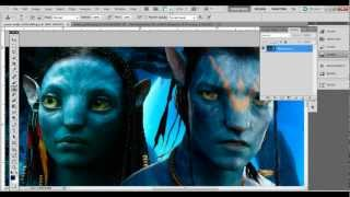 Kim Kardashian in Avatar Sequel Na'vi Photoshop Tutorial