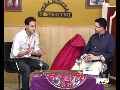 Entrevista a Rafa Garcel en El Redondel  (2 parte)  (Por José Daniel Rojo en Velevisa Tv)