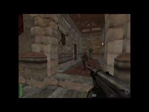Return to Castle Wolfenstein Mission 1 Escape Walktrough