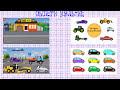 Фрагмент с средины видео - Машинки.Такси. Сборка машины. Развивающие мультики для маленьких. Cars for Kids. Taxi. Construction.