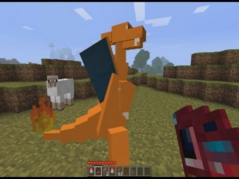 Pokemon Minecraft (PokeMobs) - The First Day Of A Newbie Trainer