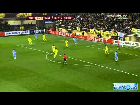 Villarreal-Napoli 2-1 (24/02/11) Raffaele Auriemma Highlights - Europa League HD By MikyNap