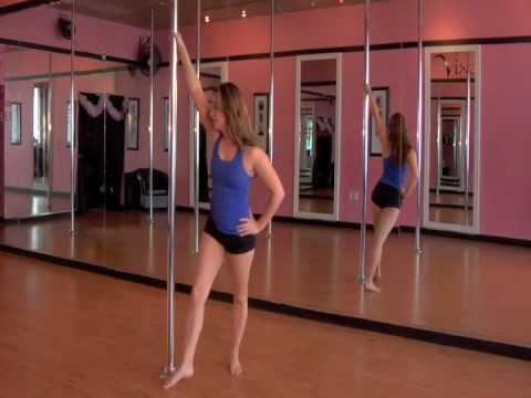 Online Pole Dance Lessons! Beginner Pole Dance Combo