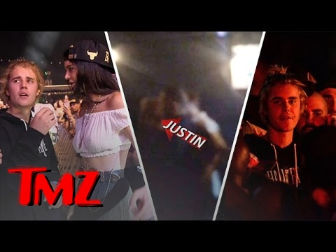 Justin Bieber Was Politely Escorted Out of Coachella