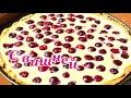 Фрагмент с конца видео Пирог со сметанной заливкой🍊Это очень вкусно!