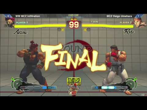 SSF4: WW MCZ Infiltration vs MCZ Daigo Umehara - SF25th Winners Finals