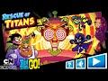 Фрагмент с конца видео ЮНЫЕ ТИТАНЫ ВПЕРЕД #1 Игра по мультику комиксу Teen Titans. Кид играет Киборгом и Робином