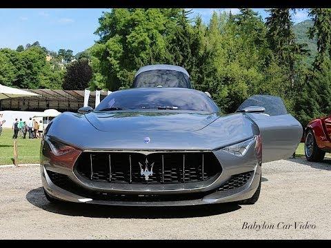 Maserati Alfieri Concept - Start & Sound - UCLrpi6CDt3CPYr97h8Ztvkw