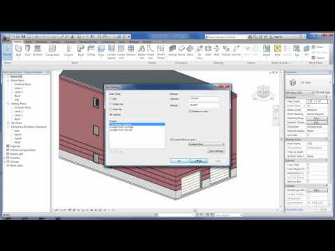 Revit Architecture 2012 - Tutorial 02