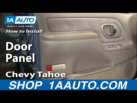 Door Panel Removal Chevy GMC Pickup Truck or SUV 1995-98 - 1AAuto.com