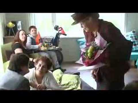 Koningin Beatrix bezocht stichting Tragel