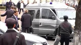 Житомирянин кинулся на кортеж Литвина