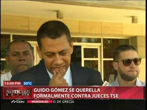 Guido Gómez somete a dos jueces del TSE por…
