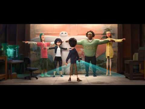 Big Hero 6 Official Japanese Trailer #2 (2014) - Disney Animation Movie HD
