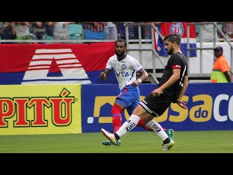 Veja os gols de Bahia 3 x 2 Bragantino