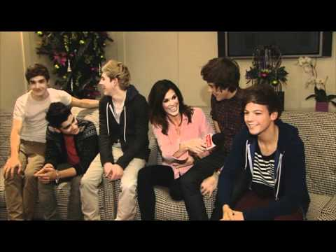 One Direction talk relationships with Glenda!