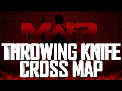 MW3 Dome Spawn Throwing Knife Across Map SND Both Sides