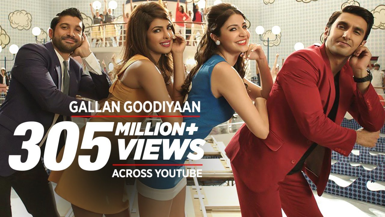 'Gallan Goodiyaan' Video Song | Dil Dhadakne Do | T-Series