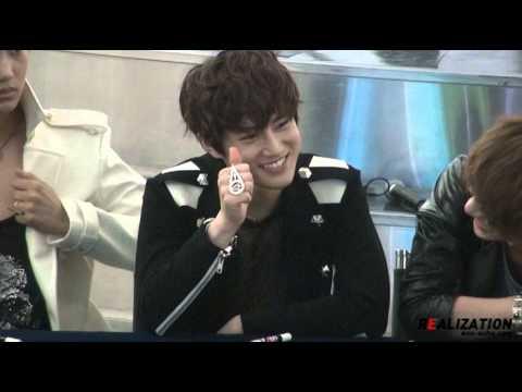 120525 EXO Yeongdeungpo fansign Suho fancam