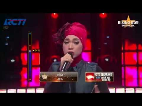 "Indah Nevertari ""Bad Girl"" Agnez Mo - Rising Star Indonesia Top12 Eps 16"