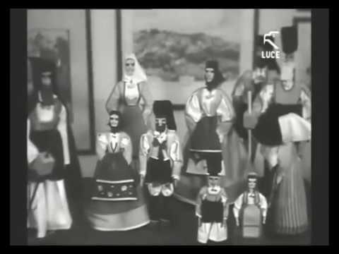 Fabbrica del giocattolo sardo diretta dall'artista Eugenio Tavolara / 1936 [Istituto LUCE]