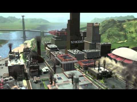 SimCity 2013 - Trailer
