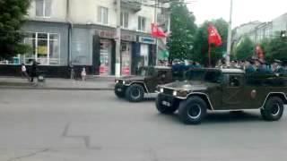 Парад на День Победы в Житомире