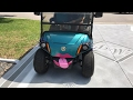 Golf Cart adventures with Melody & Kali driving Miss Daisy