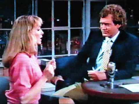 David Letterman Teri Garr 1987