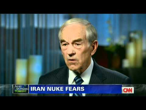 Ron Paul on Piers Morgan Tonight in Las Vegas, NV - February 3, 2012