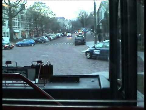 Lijn 2 naar Arnhem hoogkamp met trolley 180 (Den Oudsten B88)