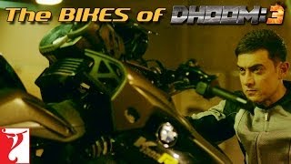 The Bikes of DHOOM:3