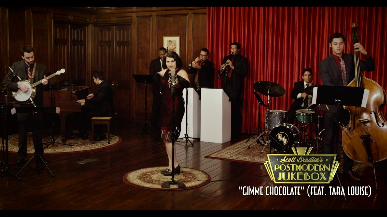 Gimme Chocolate - Babymetal (1920s Jazz Cover) ft. Tara Louise ...