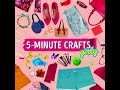 Фрагмент с начала видео 20 DIY BAGS AND PURSES TO MAKE IN JUST 5 MINUTES