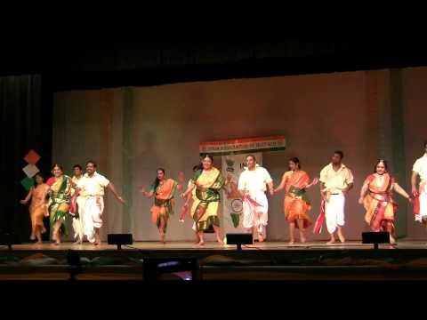 Otha Kallu Otha Kallu Mookuthi Tamil Folk Dance - IAB 2013 Independence Day Celebrations