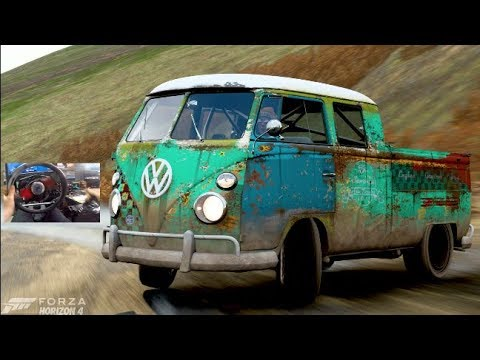 Forza Horizon 4 GoPro - 1966 Double Cab Volkswagon Pickup - 900HP AWD Build