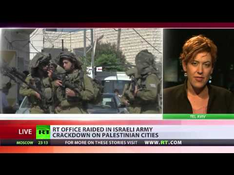 RT office in Ramallah raided by (Israeli) forces