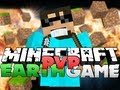 Minecraft PVP EARTHGAME - DIAMOND TANK OWNED!!
