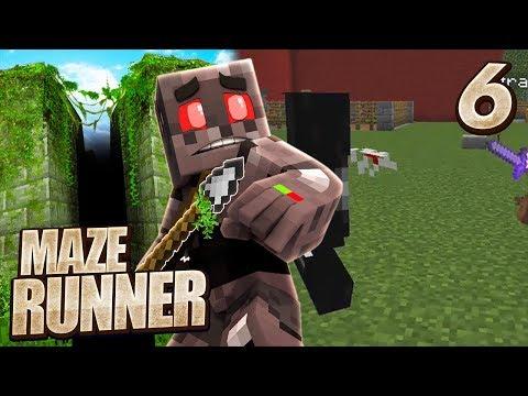 Minecraft Maze Runner Episode 6: Griever Attack