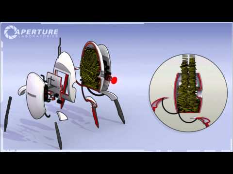 Portal 2 Turret Easter Egg FULL Song HD 720p (taken from game files)