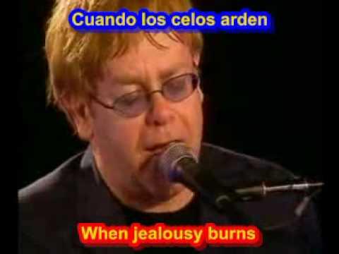 Elton John - Sacrifice  ( SUBTITULADO ESPAÃ'OL INGLES )
