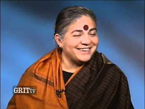 "Vandana Shiva: ""People should see that corporations have abandoned them long ago."""