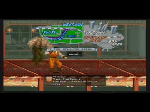 Let-s Play Final Fight Double Impact (PS3) Part 2: A Bad Cop and a Grenade Spammer