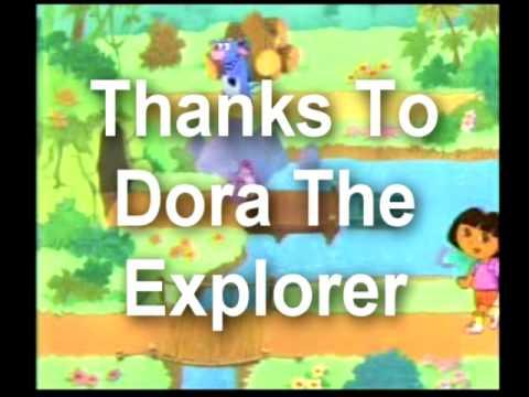 Dora The Explorer - Crank That  (Better Version)