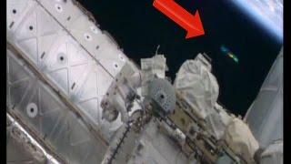 國際太空站拍到UFO!